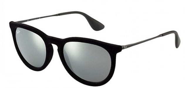 Ray Ban Erika Grey Mirror Sunglasses