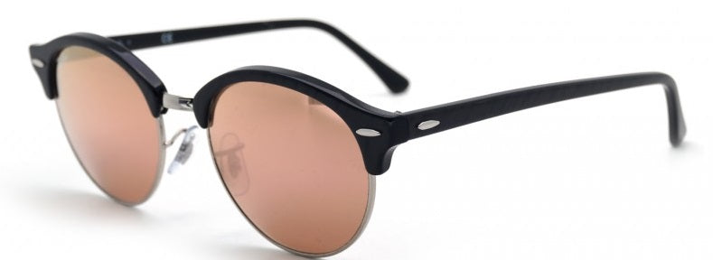 Ray-Ban Clubround Tortoise Black Sunglasses