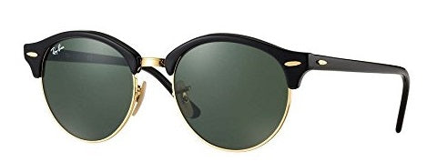 Ray-Ban Clubround Classic Black Sunglasses
