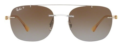 Ray-Ban Transparent Yellow Sunglasses