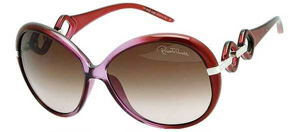 Roberto Cavalli Red Ladies Sunglasses