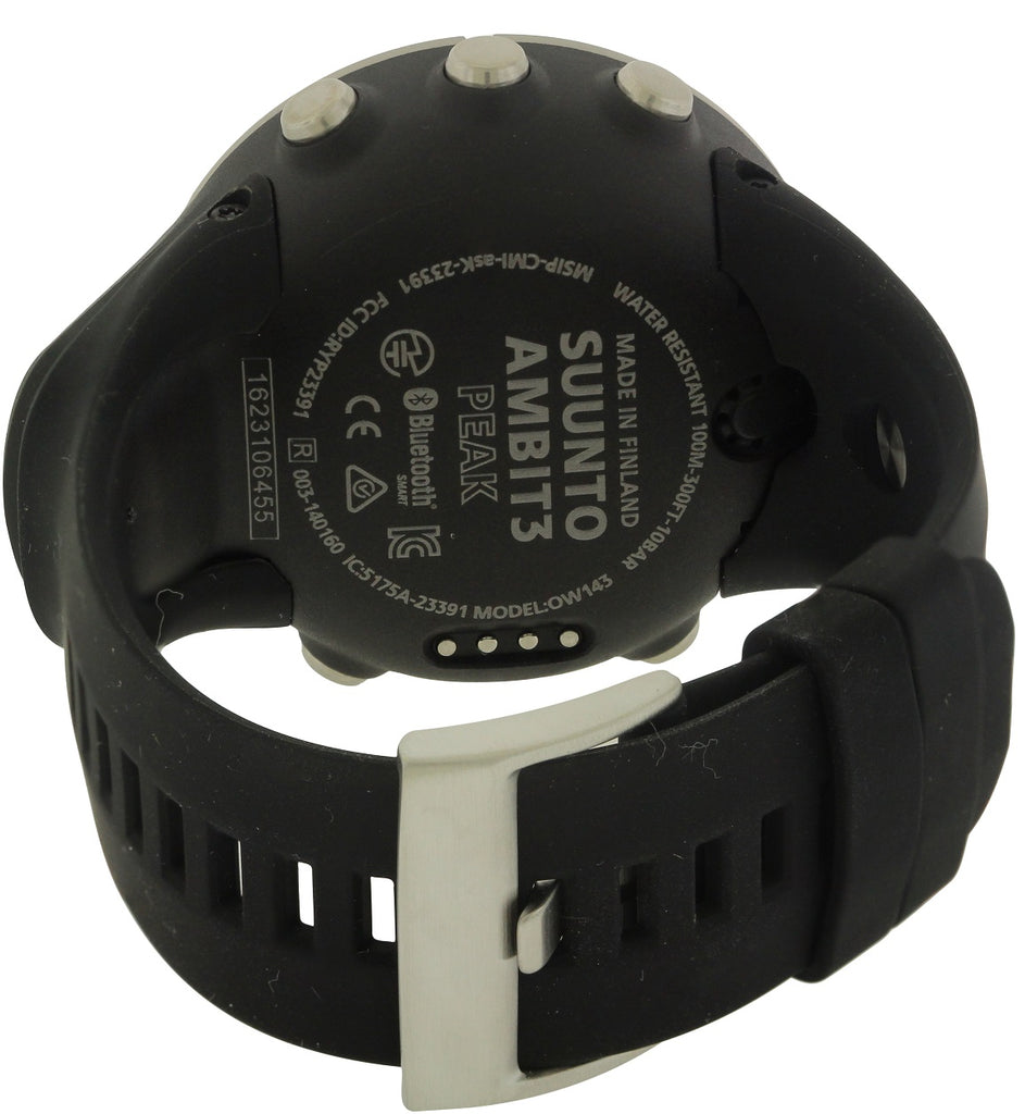 Suunto Ambit 3 HR Bluetooth GPS Chronograph Mens Watch SS020676000