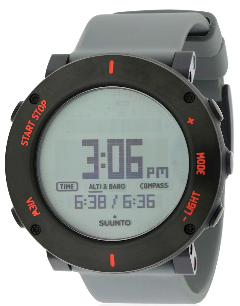Suunto Core Crush Grey Chronograph Mens Watch SS020691000