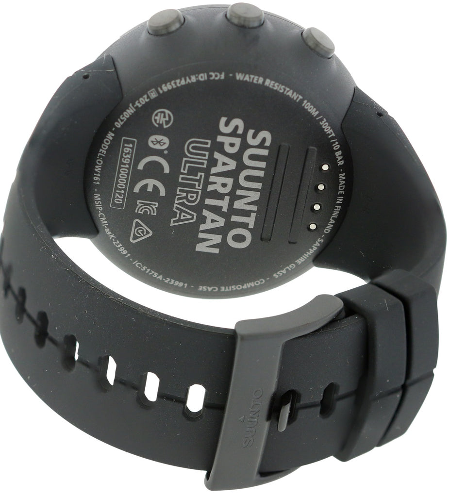 Suunto Spartan Ultra All Black Titanium Unisex Watch SS022655000