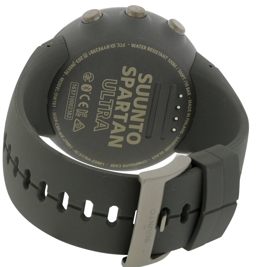 Suunto Spartan Ultra Stealth Titanium Mens Watch SS022657000