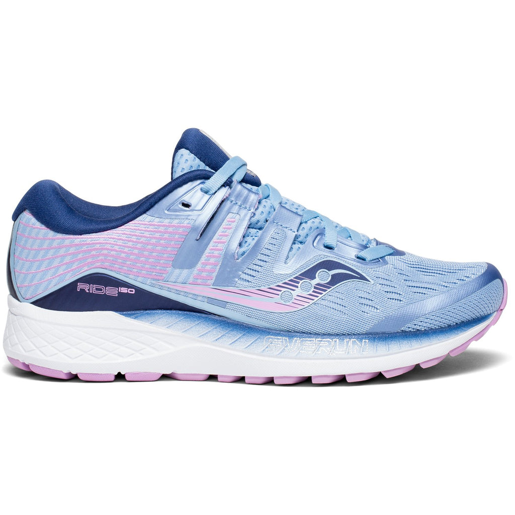 Saucony Womens Omni ISO Running Shoe Sneaker - Blue/Navy/Purple - Size 8