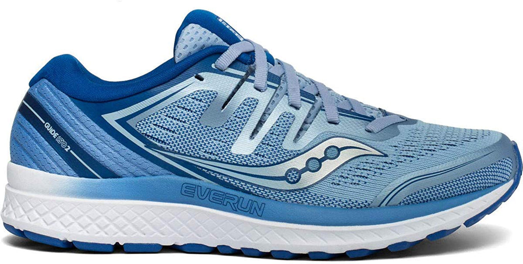 Saucony Womens Guide ISO 2 Running Shoe - Blue  - Size 6