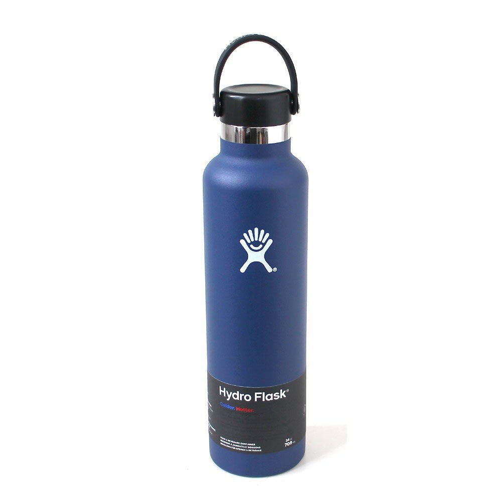 Hydro Flask 18 oz Insulated Leak Proof Water Bottle - Standard Mouth - Cobalt