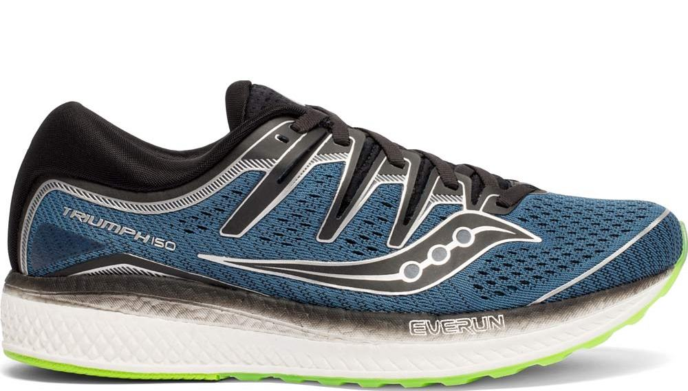 Saucony Triumph ISO 5 Mens Sneaker - Steel/Black - 9