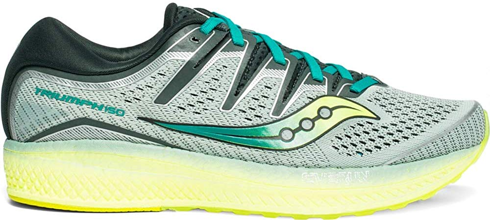 Saucony Triumph ISO 5 Mens Sneaker - Frost/Teal - Size 8