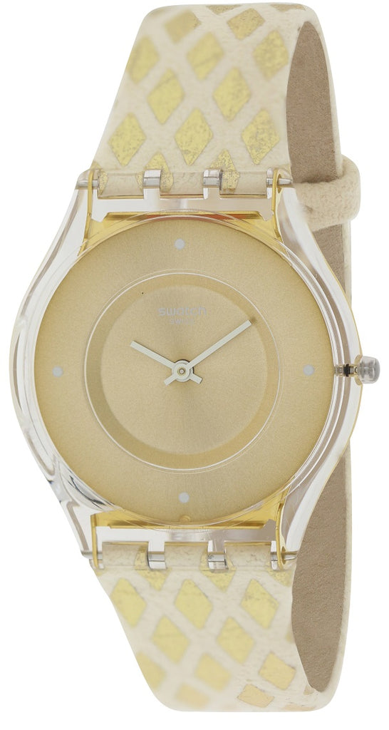 Swatch LOSANGELOR Leather Ladies Watch