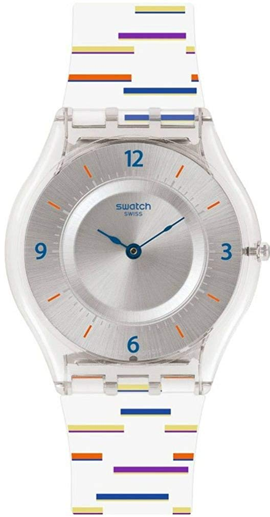 Swatch THIN LINER Silicone Unisex watch