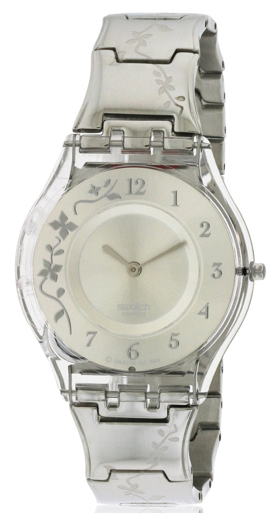 Swatch Climber Flowery Skin Ladies Watch