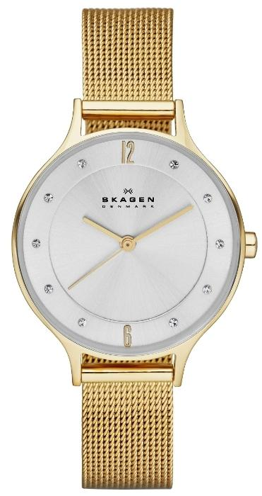 Skagen Gold-Tone Ladies Watch