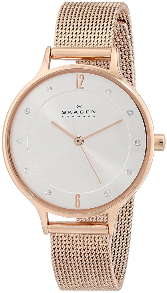 Skagen Rose Gold-Tone Ladies Watch