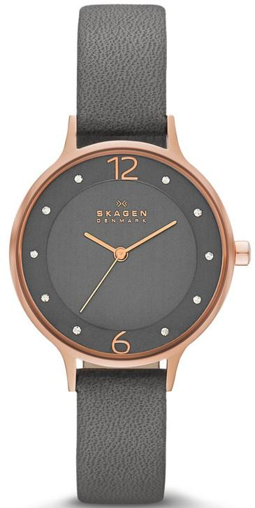 Skagen Anita Leather Ladies Watch