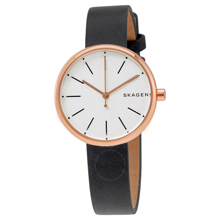 Skagen Signatur Leather Ladies Watch