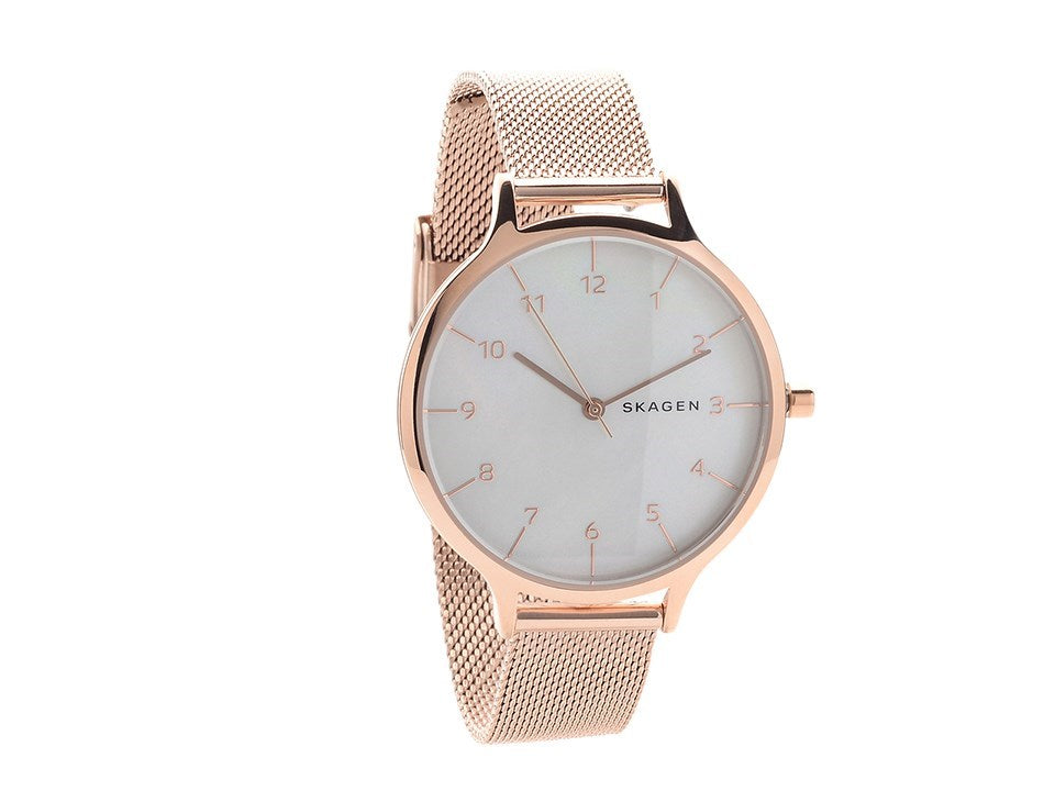Skagen Anita Rose Gold-Tone Ladies Watch