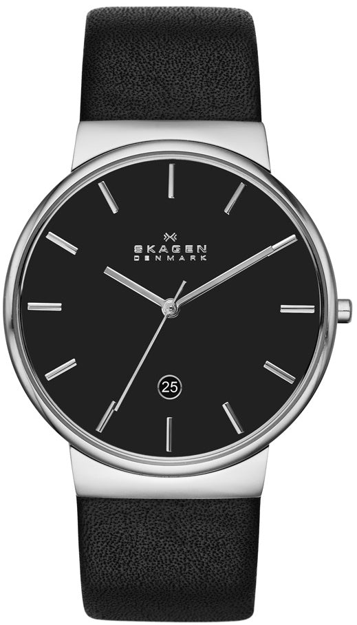 SKAGEN Ancher Leather Mens Watch