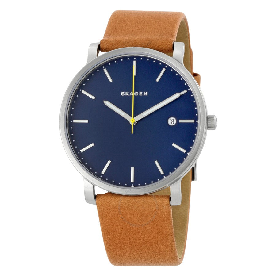 Skagen Holst Leather Mens Watch