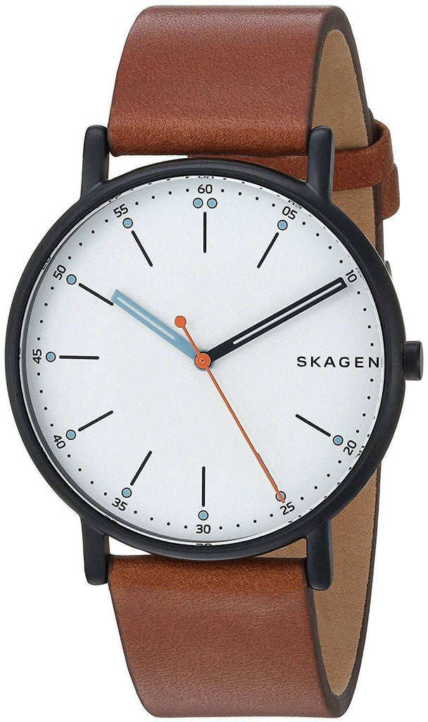 Skagen Signatur Leather Mens Watch