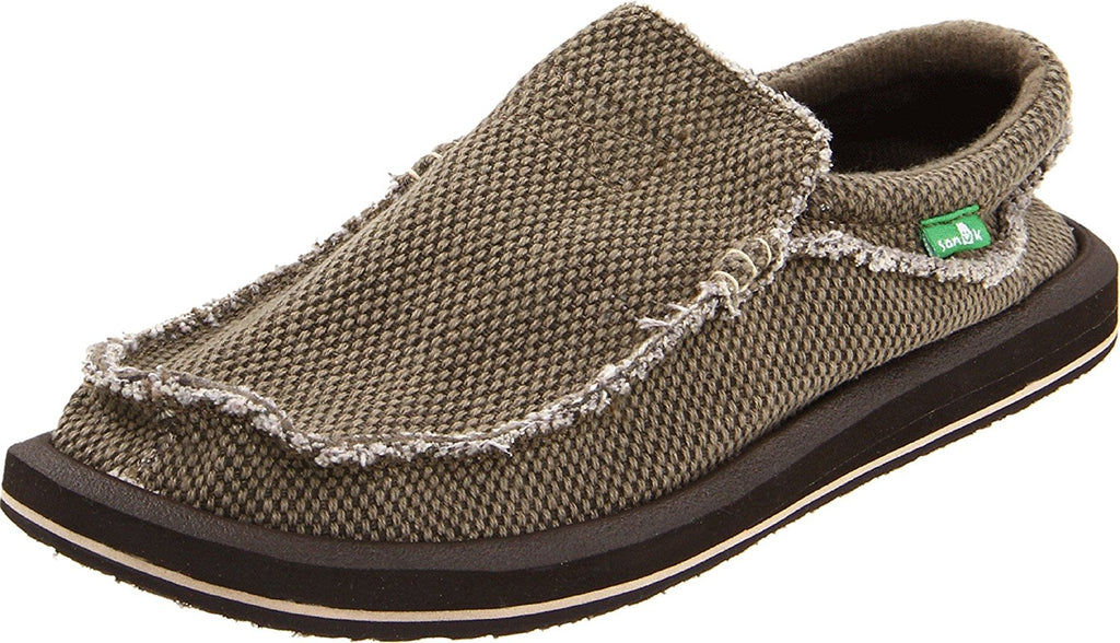 Sanuk Mens Chiba Slip-On - Brown - 10 M US -