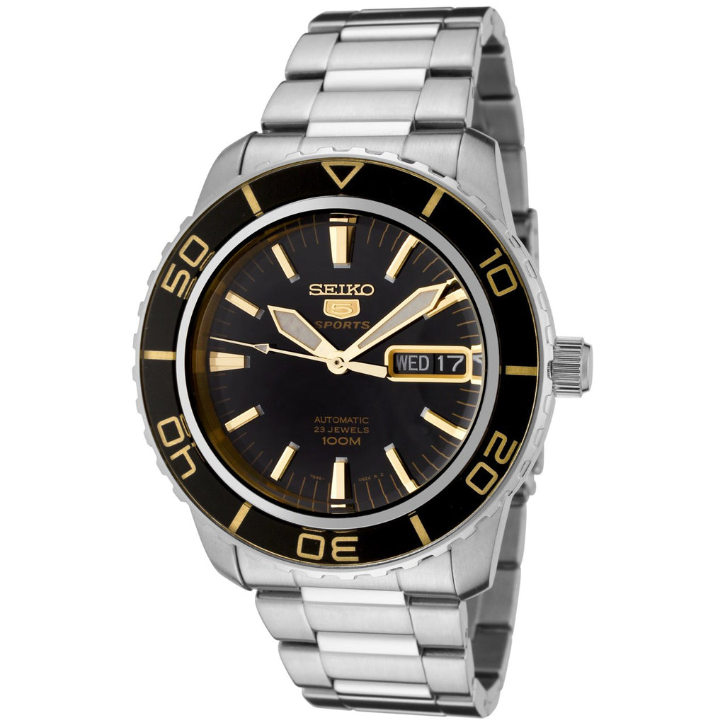 Seiko 5 Automatic Stainless Steel Mens Watch