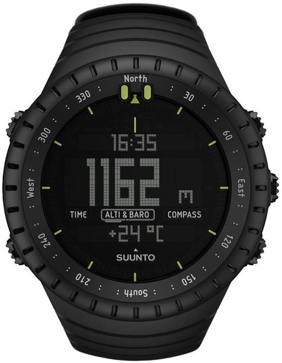 Suunto Core Military Edition Multifunction Mens Watch SS014279010