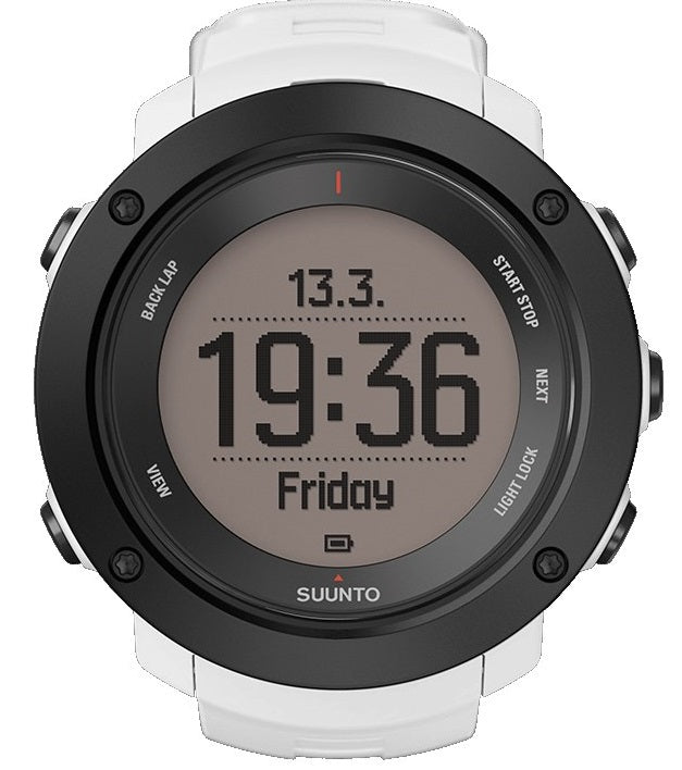 Suunto Ambit3 Black rubber Unisex watch SS021967000