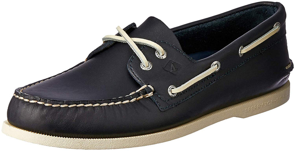 Sperry Mens Authentic Original 2-Eye Boat Shoe - Navy - Size 10.5