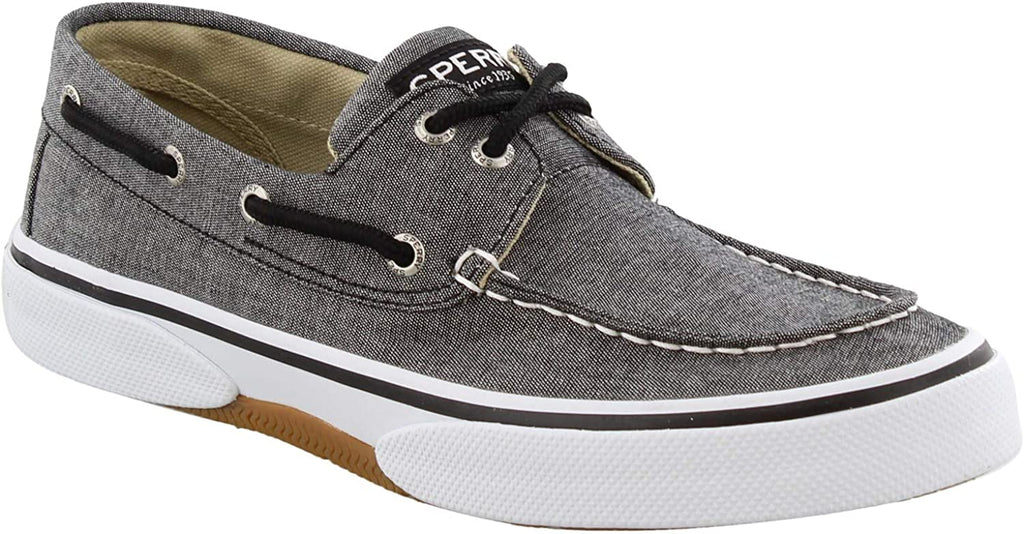 Sperry Mens Halyard 2-Eye Sneaker - Chambray Black - 11.5