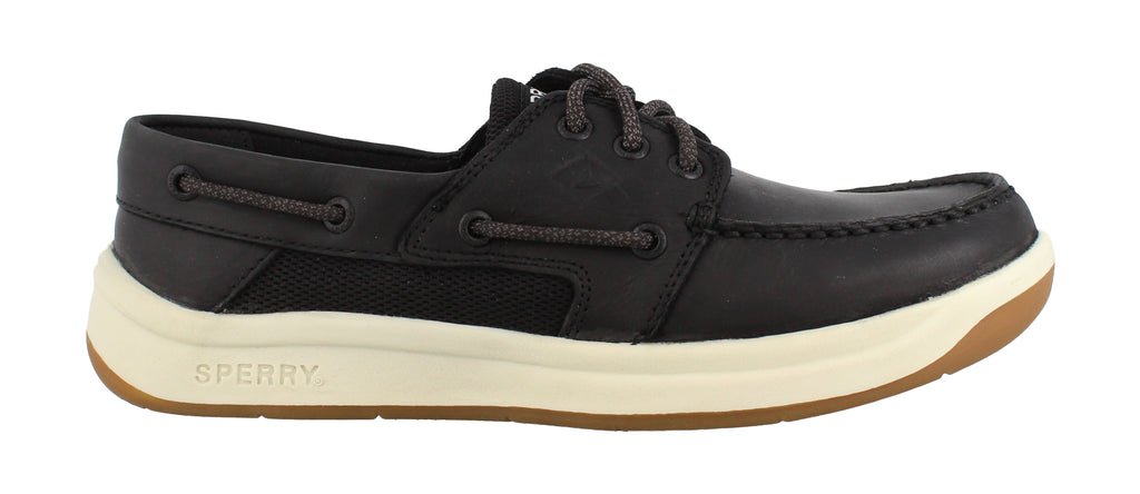 Sperry Mens Convoy 3-Eye Boat Shoe Black 10 M