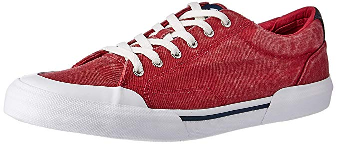 Sperry Mens Striper II Retro Sneaker Brick RED 9 M