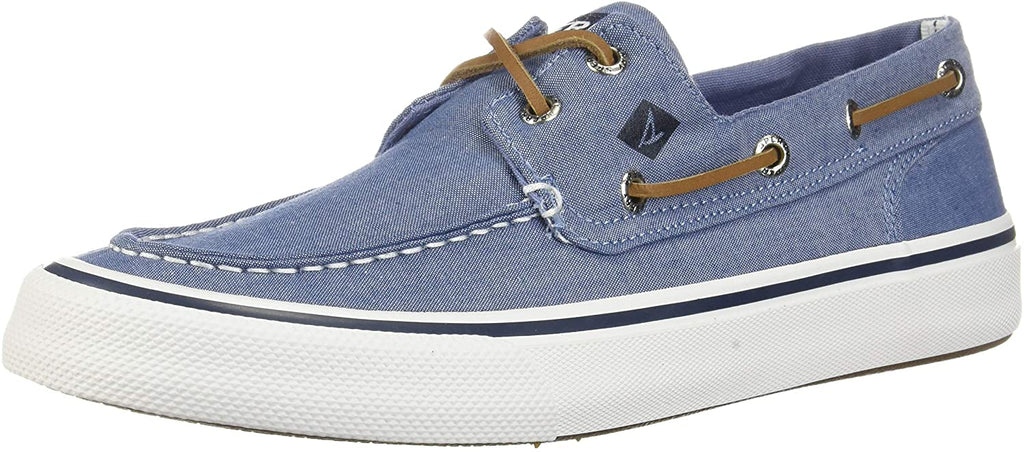 Sperry Bahama II Oxford Shirt Sneaker- Navy - 8.5