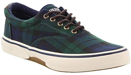 Sperry Top-Sider Halyard CVO Chambray Mens Sneaker - Plaid Multi - 10