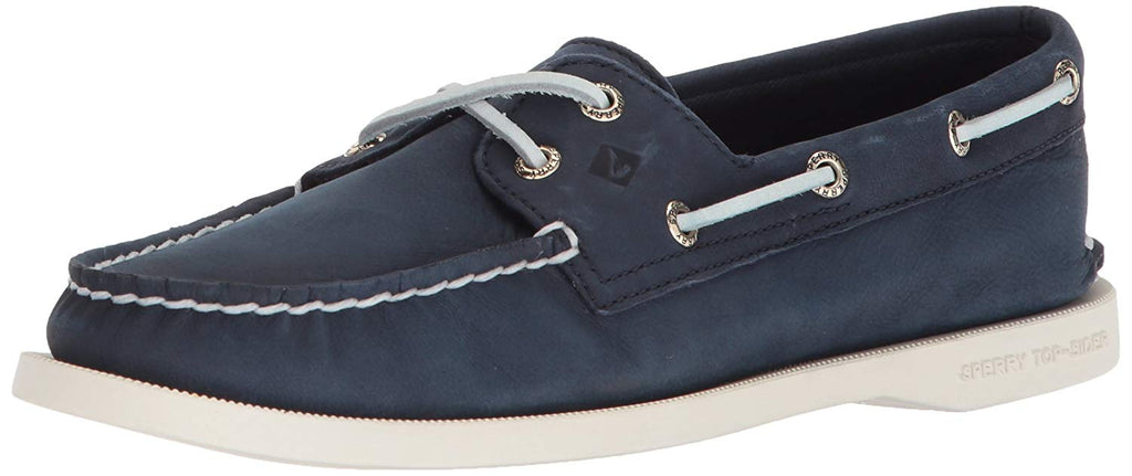 SPERRY Womens Authentic Original Boat Shoe -  Navy - Size 7