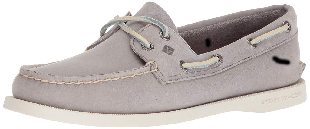 SPERRY Womens Authentic Original Boat Shoe -  Grey - Size 8