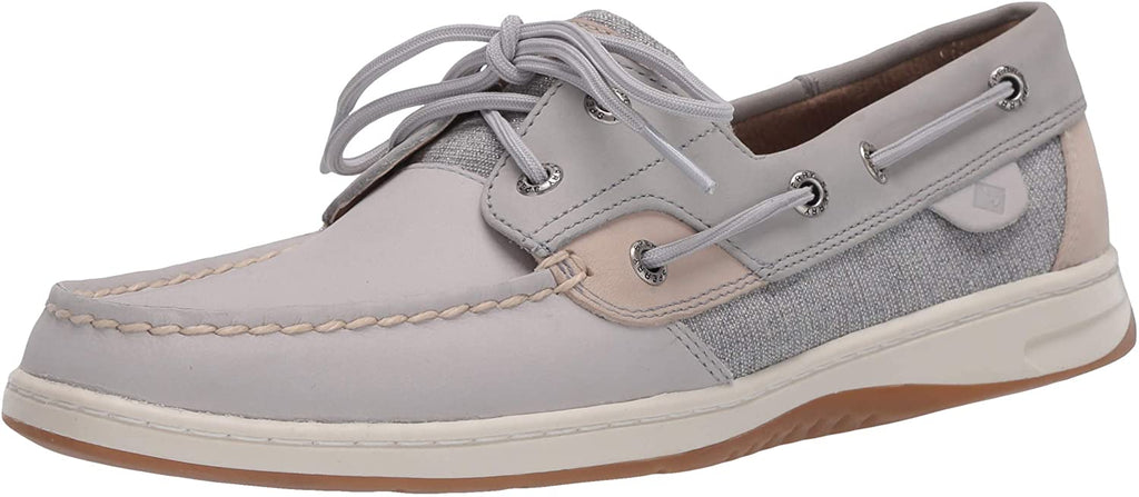 Sperry Womens Bluefish Boat Shoe - Grey 8.5