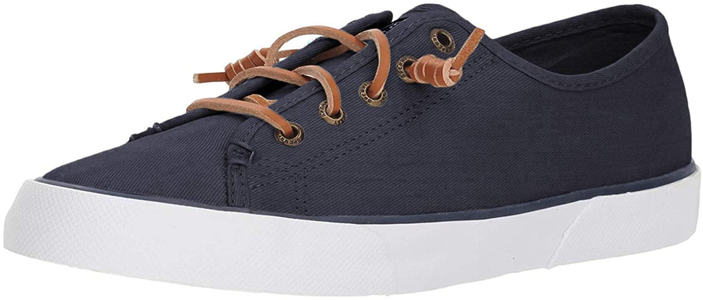 Sperry Womens Pier View Sneaker - Navy - 8.5