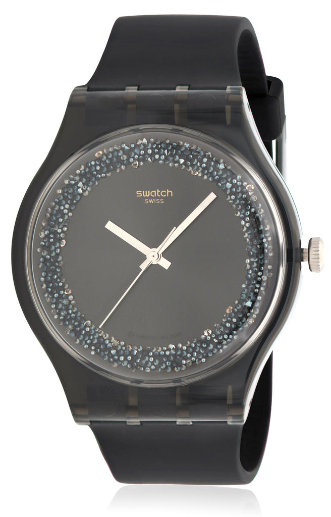 Swatch DARKSPARKLES Mens Watch
