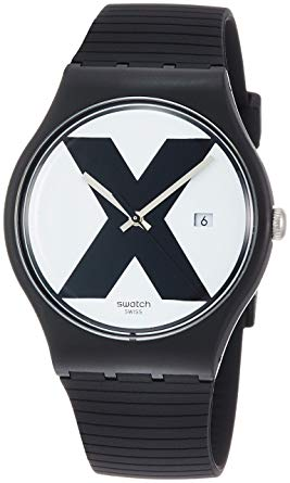 Swatch XX-RATED BLACK Unisex Watch