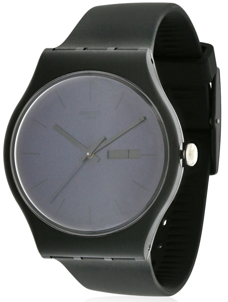 Swatch 'Black Rebel' Watch