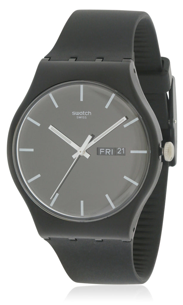 Swatch MONO BLACK Unisex Watch