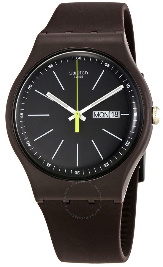 Swatch BLUE BROWNY Mens Watch