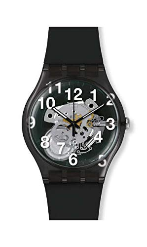 Swatch Black Board Mens Watch