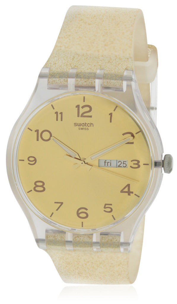 Swatch Golden Sparkle Ladies Watch