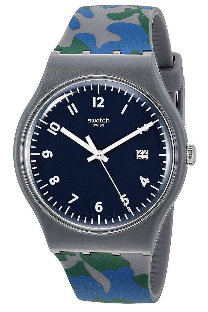 Swatch Camougreen Mens Watch