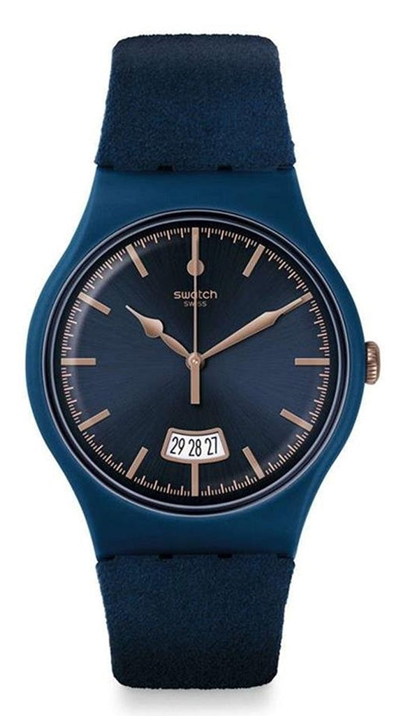 Swatch Cent Bleu Unisex Watch