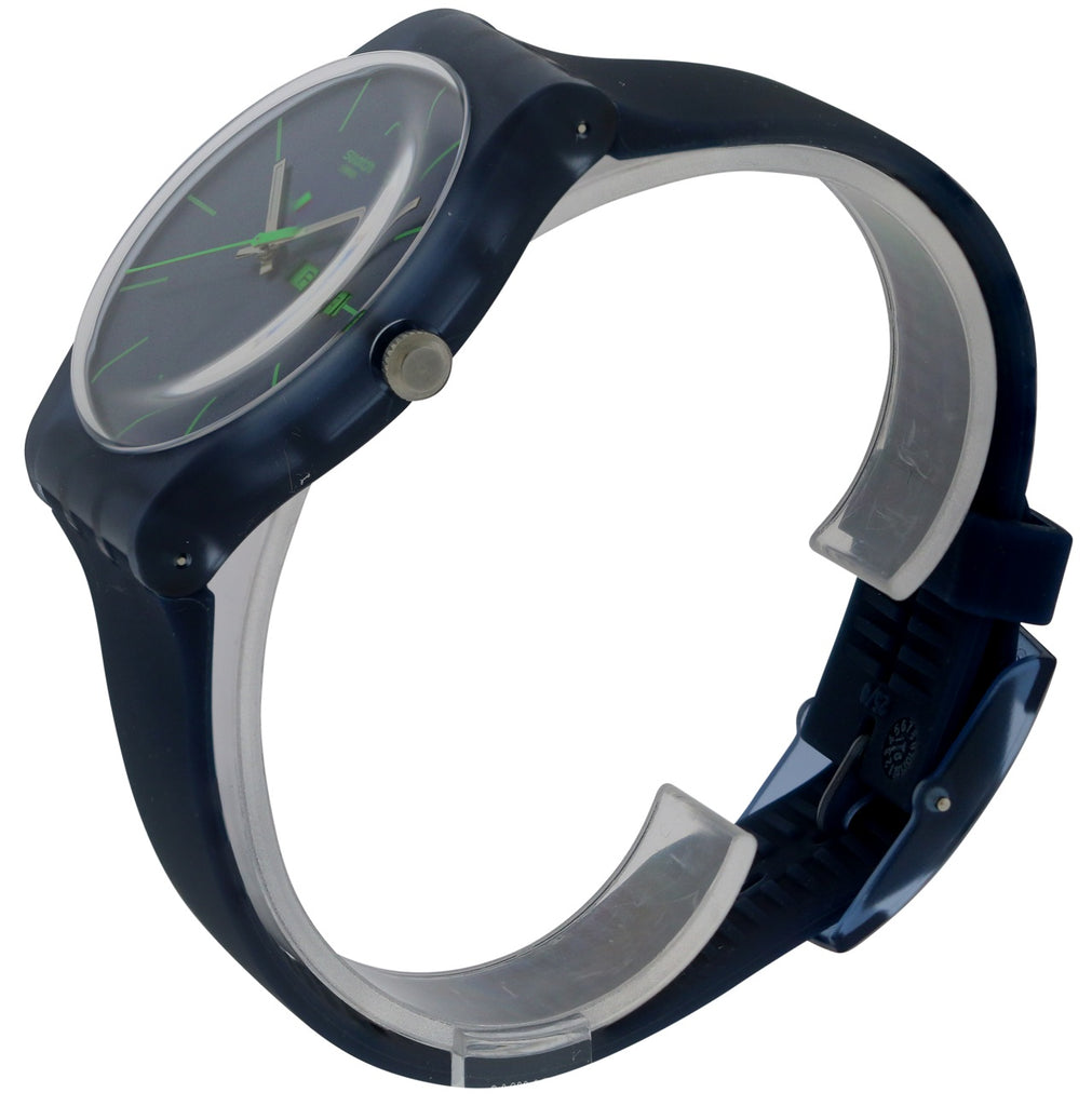 Swatch 'Blue Rebel' Watch
