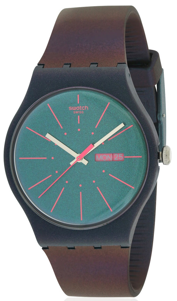 Swatch NEW GENTLEMAN Silicone Mens Watch